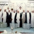 اية الله الشيخ محمد سلمان الهاجري مع رفيق دربه الشيخ الغريري 2