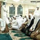 اية الله الشيخ محمد سلمان الهاجري في المسجد 7