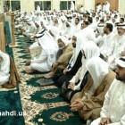 اية الله الشيخ محمد سلمان الهاجري في المسجد 9