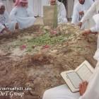 جموع المؤمنين على القبر الطاهر 4