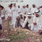 جموع المؤمنين على القبر الطاهر 3