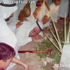 بكاء الحاج جواد الهاجري على قبر  شقيقه الشيخ الهاجري (قده)