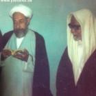 الشيخ الهاجري مع صديقه واخيه الروحي  الشيخ الغريري