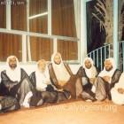 صورة للعلامة اية الله الشيخ الهاجري قدس سره مع علماء الأحساء 2